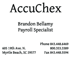 AccuChex